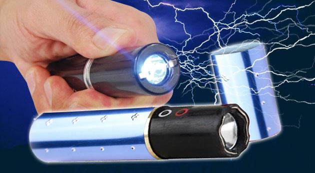 Zľava 73%: Dámska baterka s paralyzérom iba za 8,99€. Odteraz sa budete cítiť v bezpečí. Na výber z troch farieb.