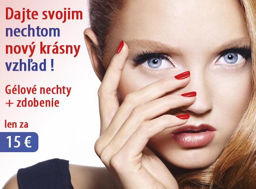Fotka zľavy: Očarte krásnymi nechtíkmi! Modeláž gélových nechtov + zdobenie len za 15 € (hodnota 30 €)