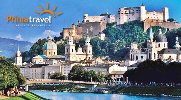 Očarujúci 2-dňový poznávací zájazd do Salzburgu iba za 99€. Navštívte krásne rakúske mestečká, objavte nádhernú prírodu pri plavbe po jazere Wolfgangsee a nechajte sa očariť dedinkou Hallstatt.