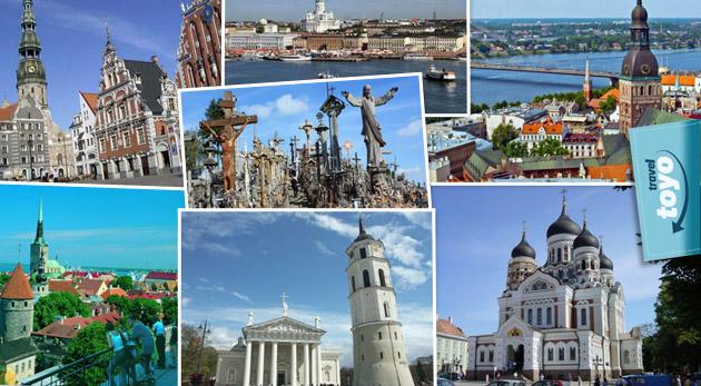 Spoznajte Fínsko, Litvu, Estónsko a Lotyšsko počas 6-dňového poznávacieho zájazdu len za 229€. Cena zahŕňa dopravu luxusným autobusom, ubytovanie s raňajkami a služby sprievodcu.