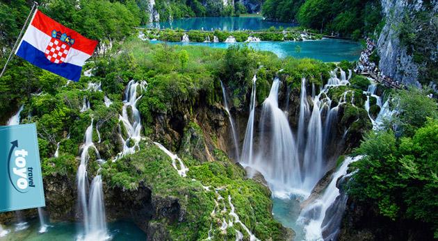 Spoznajte nádherné Plitvické jazerá a užite si večernú atmosféru Záhrebu za skvelú cenu iba 51€! Pokochajte sa priezračnou vodou a desiatkami vodopádov!