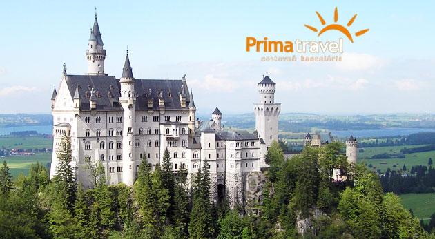 Nádherný víkend v zajatí krásy Bavorských zámkov. 2-dňový zájazd do Nemecka len za 119€ pre 1 osobu s ubytovaním, raňajkami a službami sprievodcu.