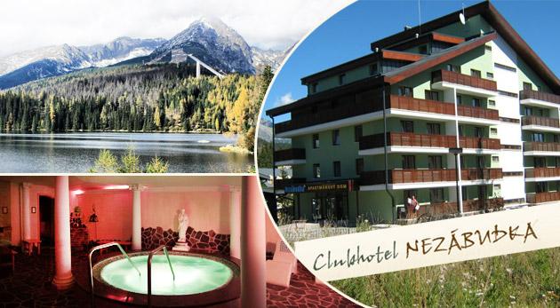 Využite All Inclusiv pobyt alebo pobyt s polpenziou už od 55€ v Tatranskej Štrbe. Neobmedzený wellness a množstvo ďalších bonusov k tomu. Platnosť až do 31.3.2015!
