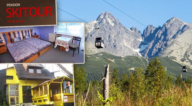 Jesenná pohoda v Penzióne Skitour len za 69€ pre 1 osobu. Večera v Zbojníckej Kolibe a celodenný vstup do Aquacity Poprad. Pohrúžte sa do krásy našich Tatier!