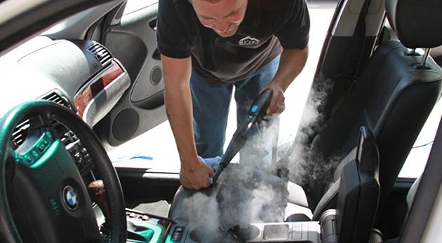 Fotka zľavy: Nablýskaný auto-krásavec len za 29€. Čistenie interiéru a tepovanie čalúnenia auta ekologicky a šetrne pomocou pary bez použitia chemických prípravkov.