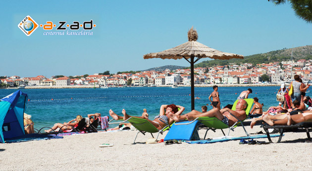 Lákavá ponuka na dovolenku pri mori v Chorvátsku na 8 dní v stredisku Vodice už od 149€. Doprava autobusom, na výber aj pobyt s polpenziou a ubytovanie len na skok do mora!