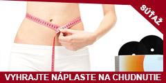 Súťaž o dve balenia magnetických náplastí na chudnutie